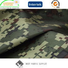 100% Polyester Polyurethane Coated Oxford 600d Camouflage Fabric for Trousers with Printed